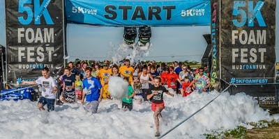 THE 5K FOAM FEST REGINA, SK July 13, 2019