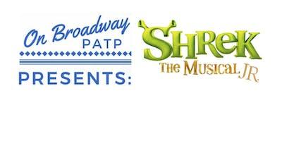 On Broadway Presents Shrek Jr. - Industry Professional Link