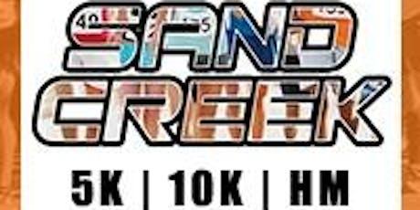 2019 Sand Creek Half Marathon Half Marathon/1M/5K/10K/10M tickets