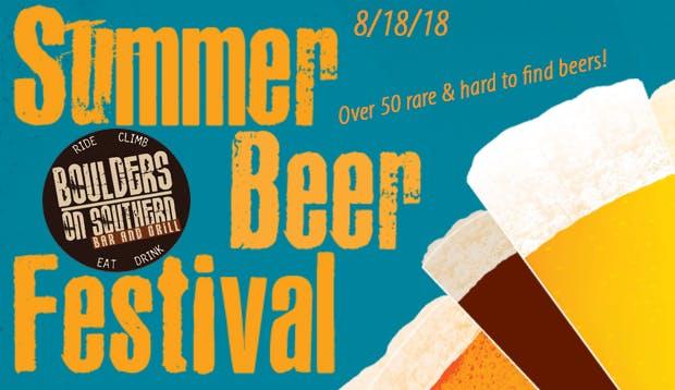 Boulders on Southern Summer Beer Fest 2018