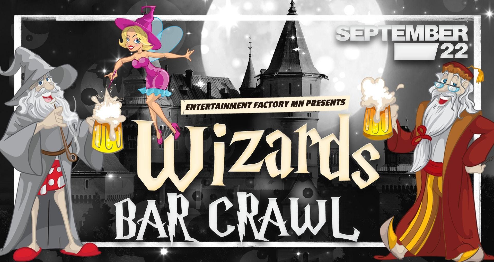Wizards Bar Crawl