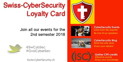 Swiss CyberSecurity Second Semester 2018
