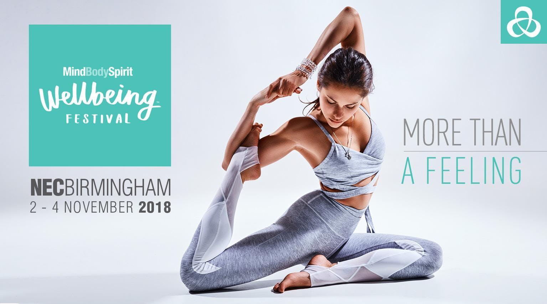 Mind Body Spirit Birmingham Wellbeing Festival 2018