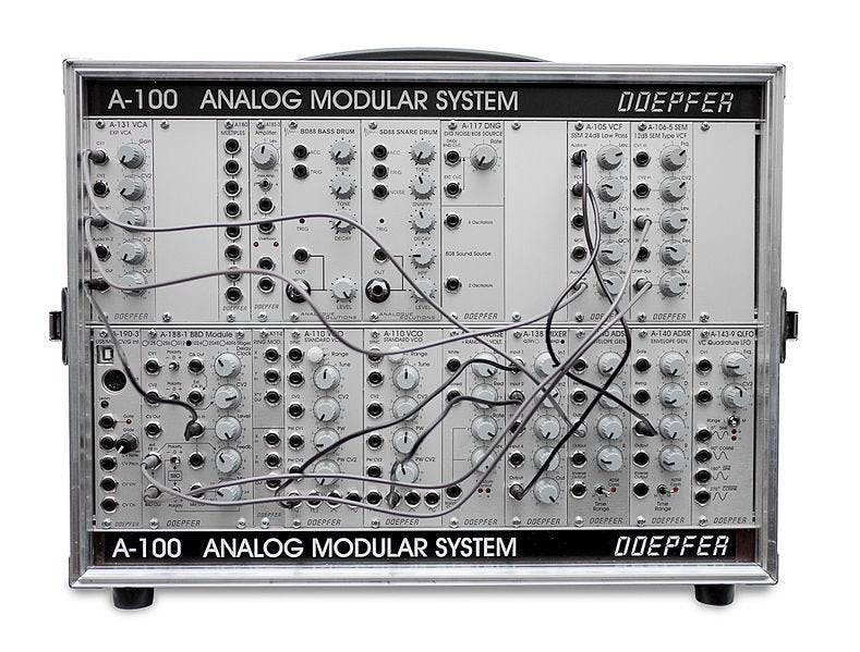 (Workshop) Modular Synthesizer