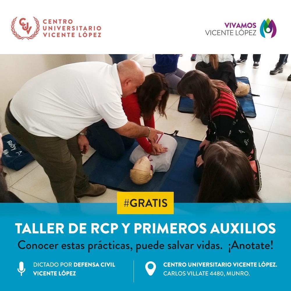 Taller RCP y Primeros Auxilios
