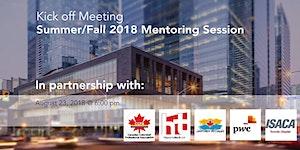 Summer / Fall 2018 Mentoring Program