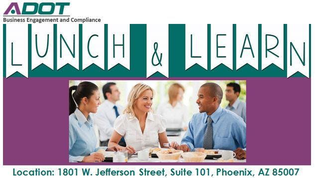 Lunch and Learn - Insurance Requirements for