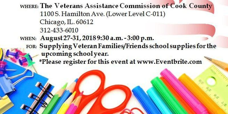 VAC of Cook County 2nd Annual Back to School Program | Coalition of