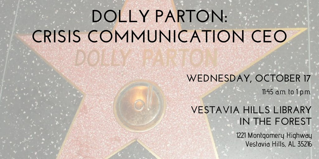 PRCA-B Presents - Dolly Parton: Crisis Commun