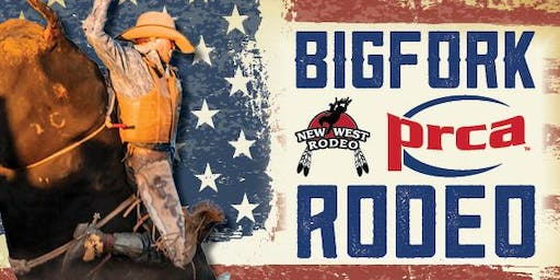 Bigfork Montana Summer Pro Rodeo