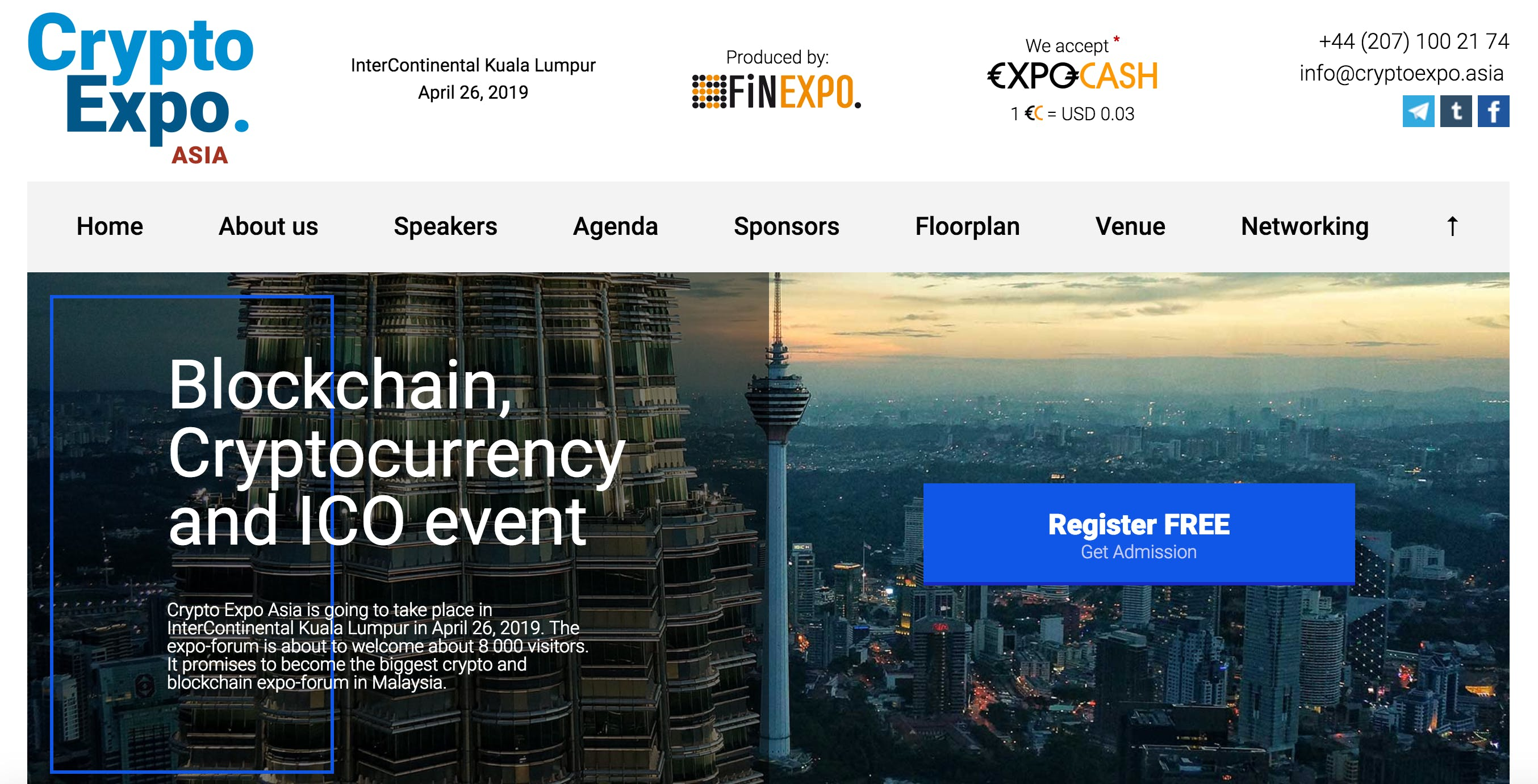 Crypto Expo Forum 2019 - Malaysia (Conference