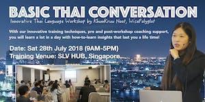Basic Thai Conversation Workshop by Khun Kruu Noot,...