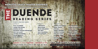 Duende Reading Series by Primitive Grace Theater Ensemble