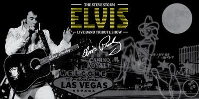 Elvis - Full Live Band Spectacular Tribute Stage Show (Steve Storm & The Vegas Cruiser band)