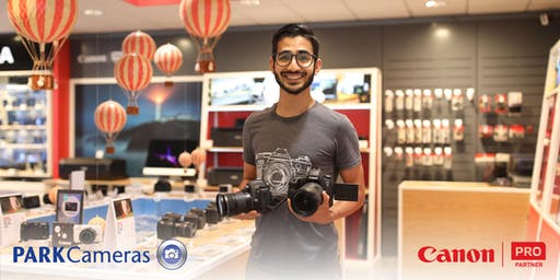 FREE Canon 1-2-1 session at Park Cameras: Burgess Hill