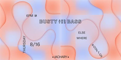 Busty & The Bass @ Elsewhere (Rooftop)