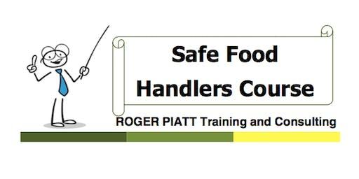 Safe Food Handling Course - North Battleford - Friday June 21, 2019