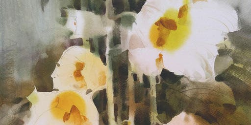Big Brush Watercolor Workshop by Sterling Edwards