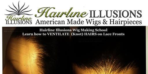 Learn how to VENTILATE (Knot) HAIRS on Lace Fronts, 360's and Make Semi-Custom 360 Wigs!