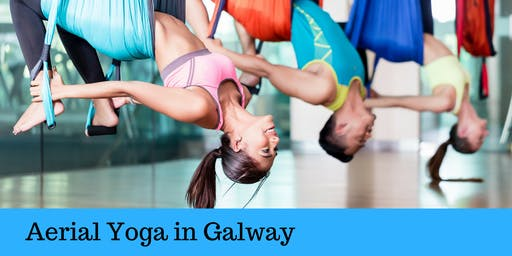 Aerial Yoga Beginners' Workshop in Galway July