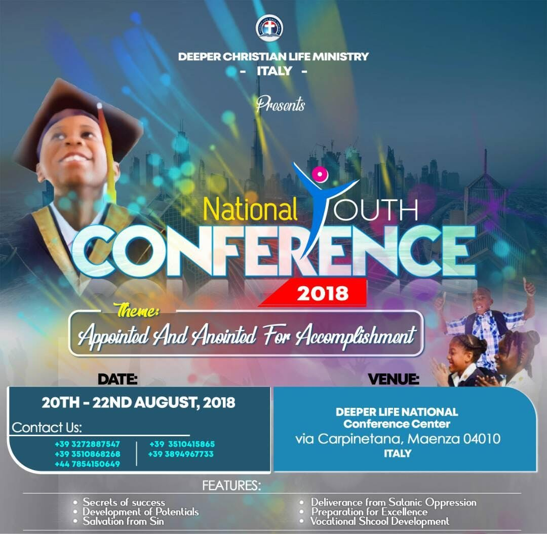 Deeper Life Italy National Youth Conference 2