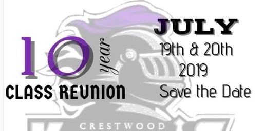 Crestwood High School Class of 2009 10 Year Reunion
