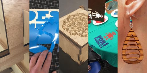 Digital Design for Makers: Inkscape Basics & Vinyl Cutter