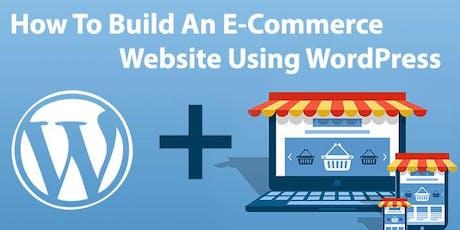 Wordpress E-Commerce:Quick Set Up and Sell Online Classes biglietti