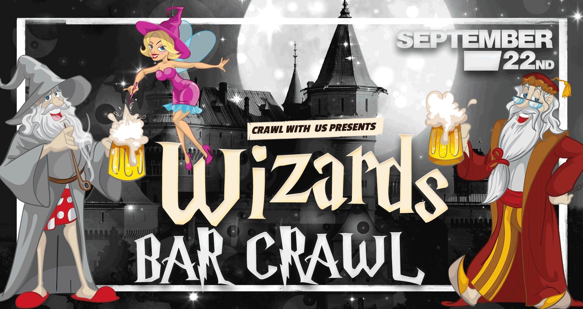 Wizards Bar Crawl - Tempe