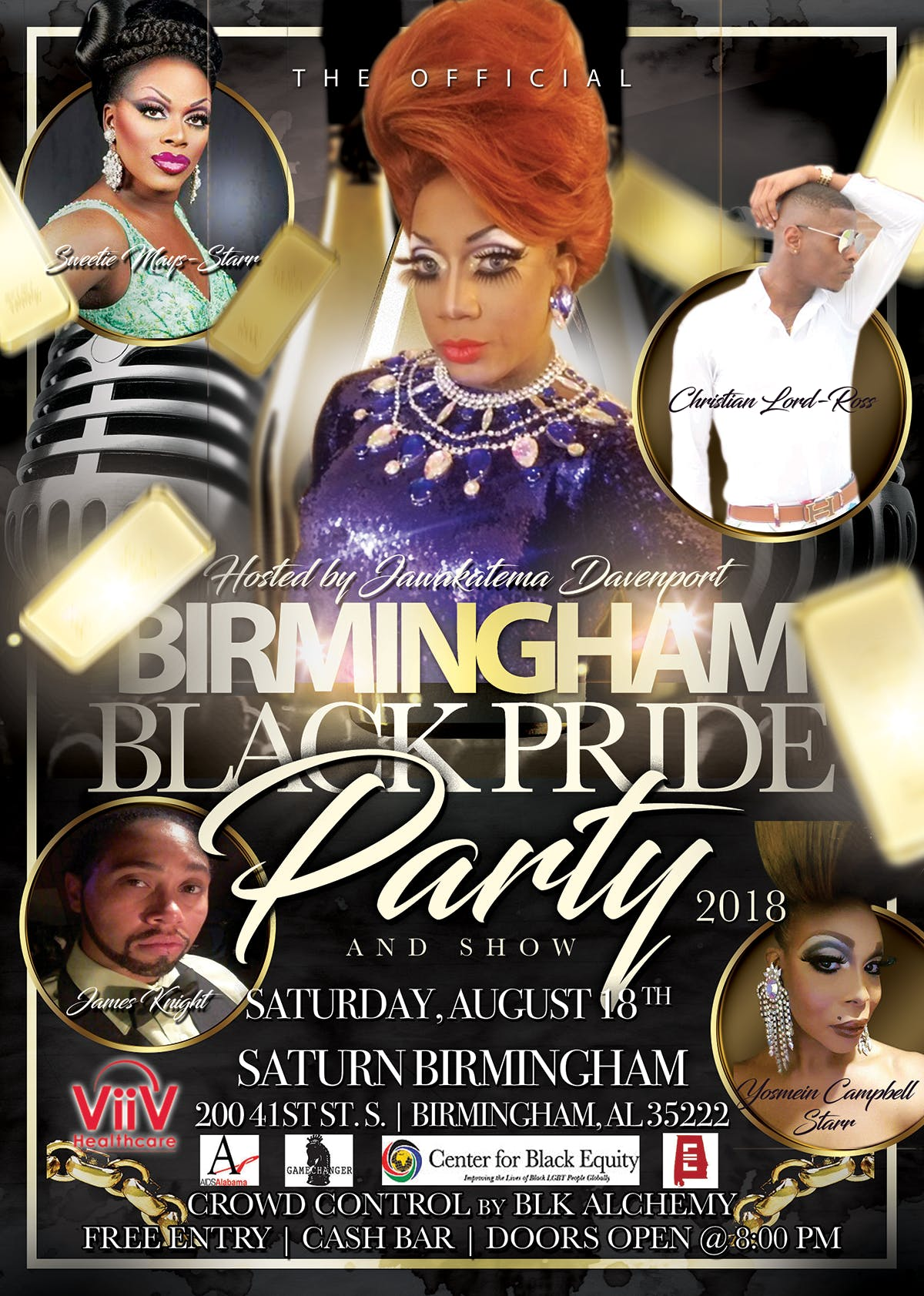 Birmingham Black Pride Party