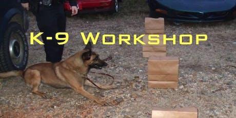 2019 K-9 Workshop - Greensboro, GA tickets