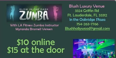 Glow in the Dark Zumba Presented by Blush Luxury Venue  tickets