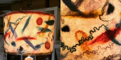 Felted Lampshades