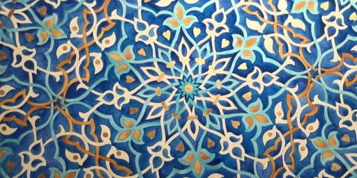 Practical Intro to Islamic Patterns, Geometry and Arabesque, Summer School, LONDON
