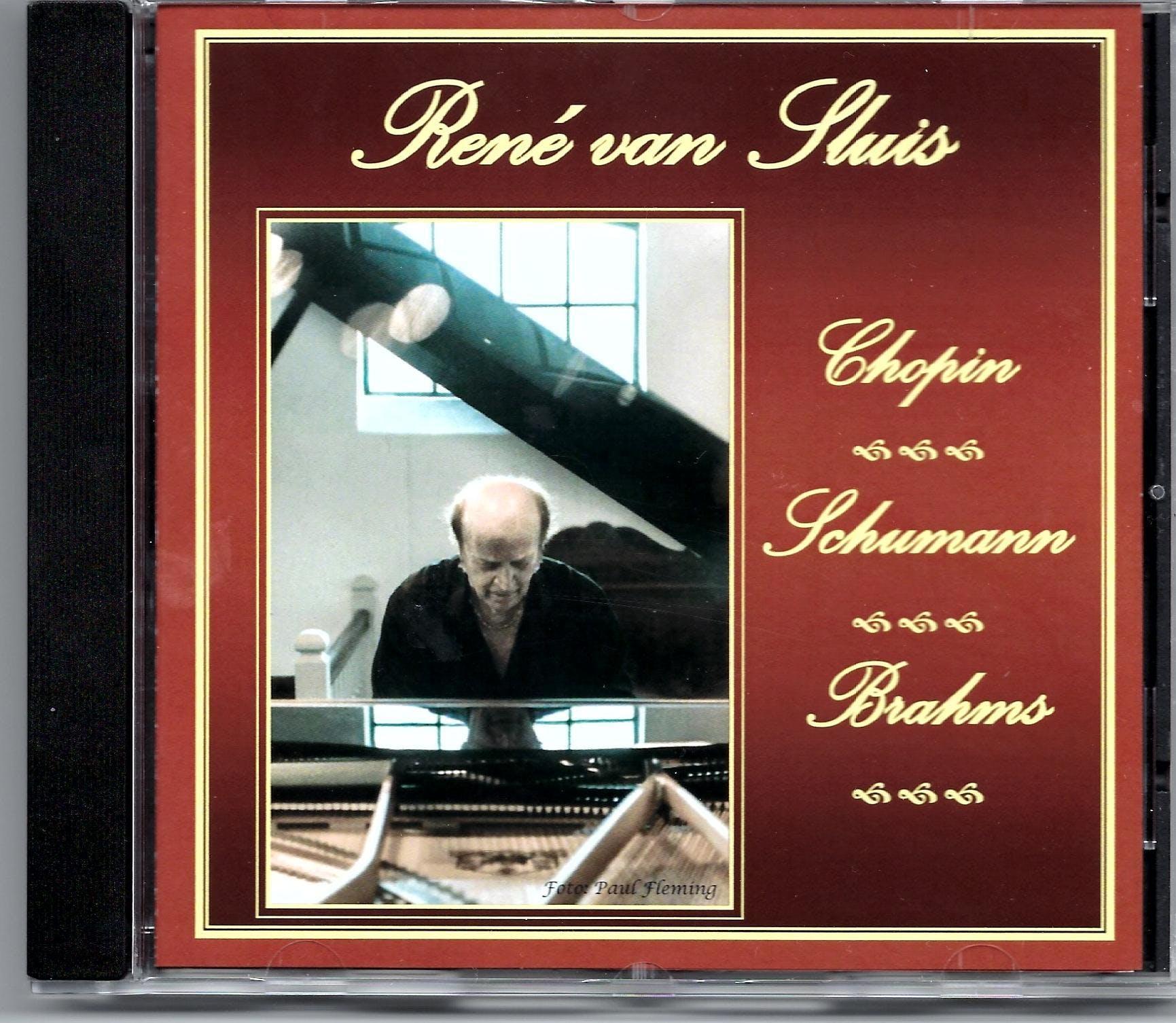 Concertpianist René van Sluis presenteert zij