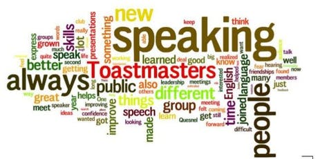 LIVE ON THURSDAY'S...IT'S TOASTMASTERS OF CENTERVILLE!!! tickets