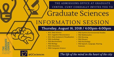 Graduate Sciences Information Session