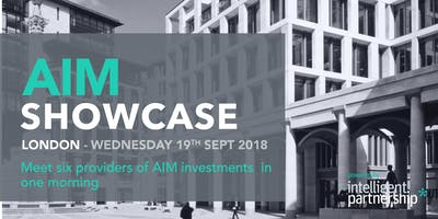 AIM Showcase for financial advisers and wealth man