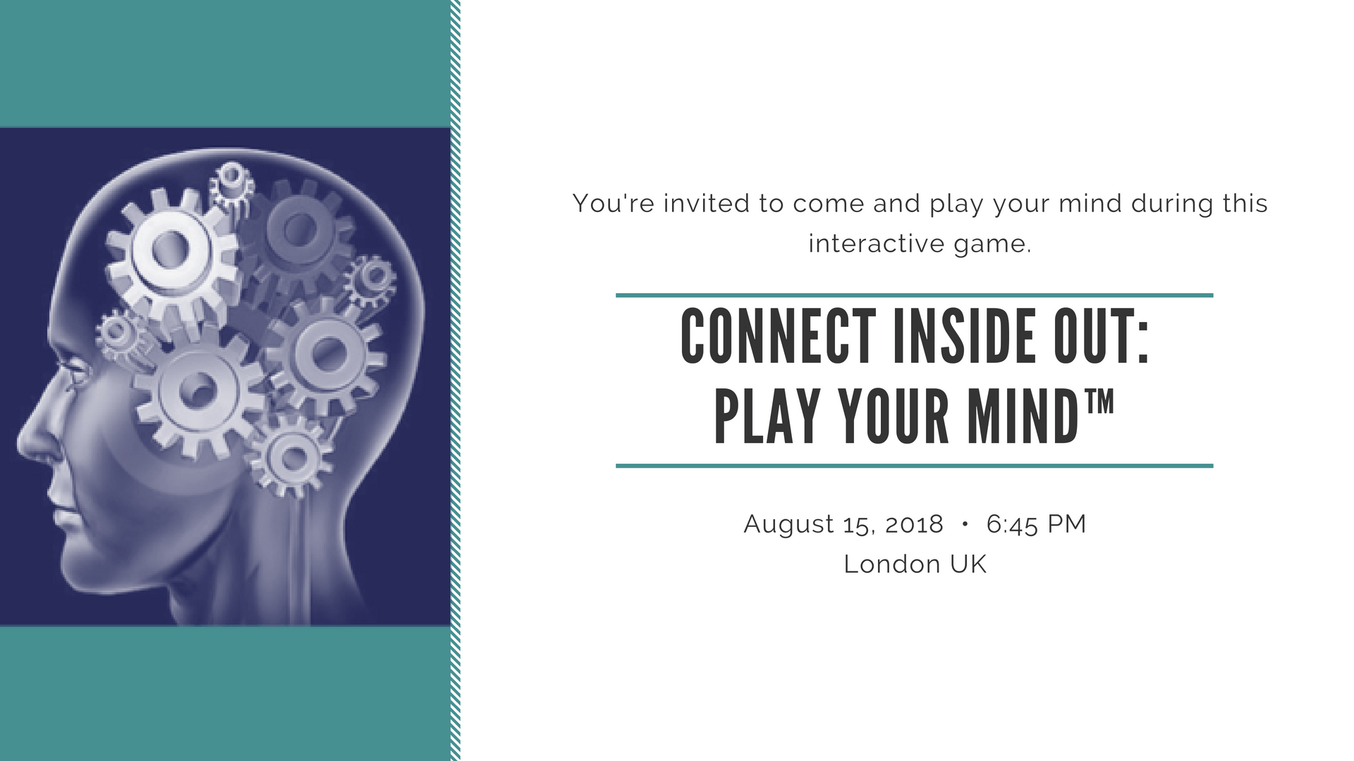 CONNECT INSIDE OUT: PLAY YOUR MIND