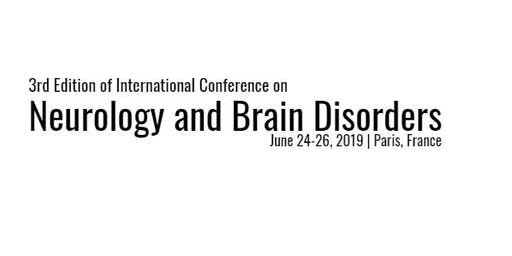 3rd Edition of International Conference on Neurology and Brain Diosrders