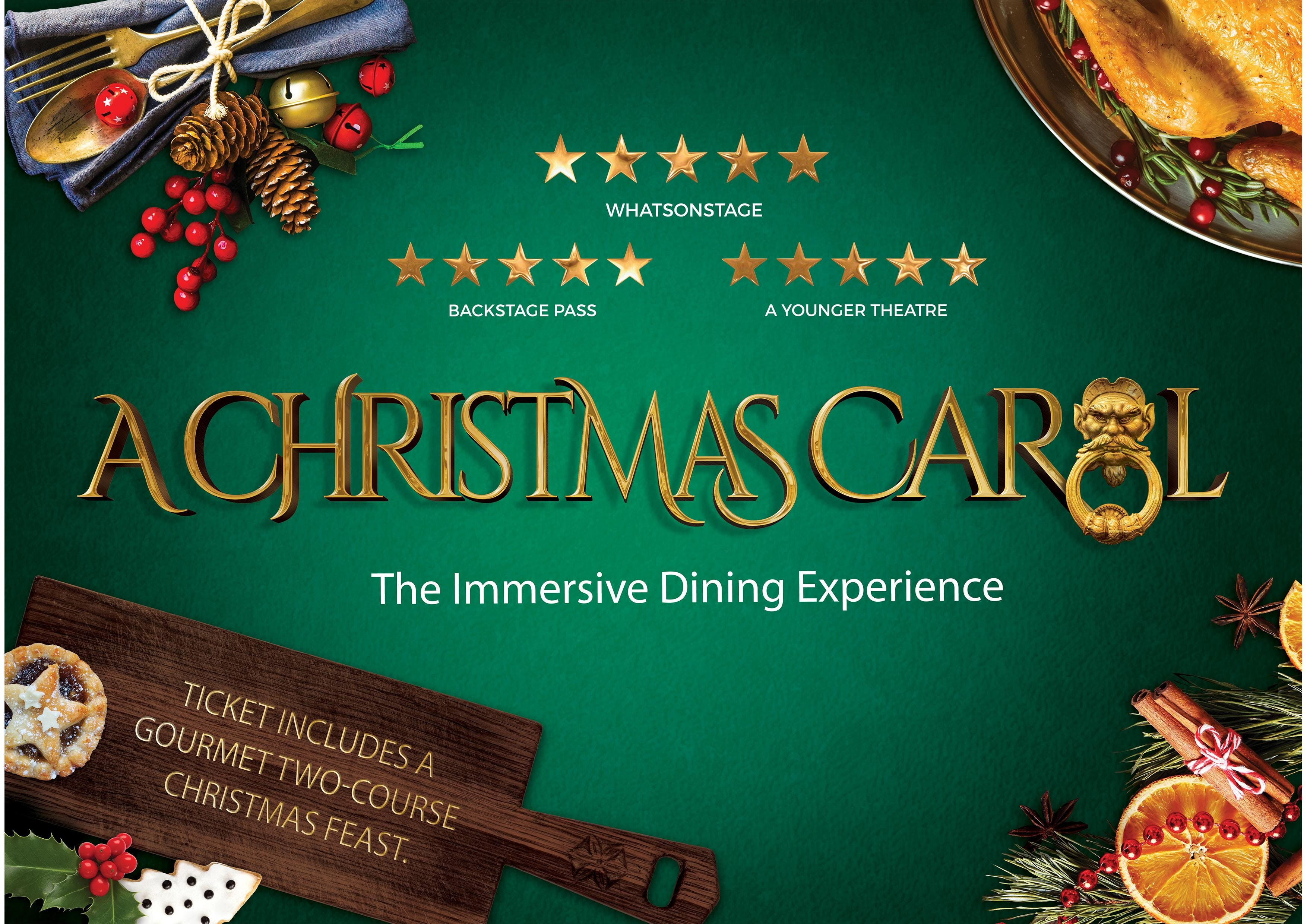 A Christmas Carol- The Immersive Dining Exper