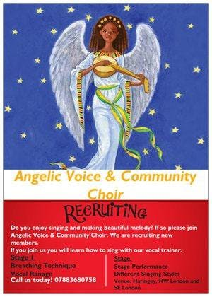 Angelic Voice and Community Choir Recruitment