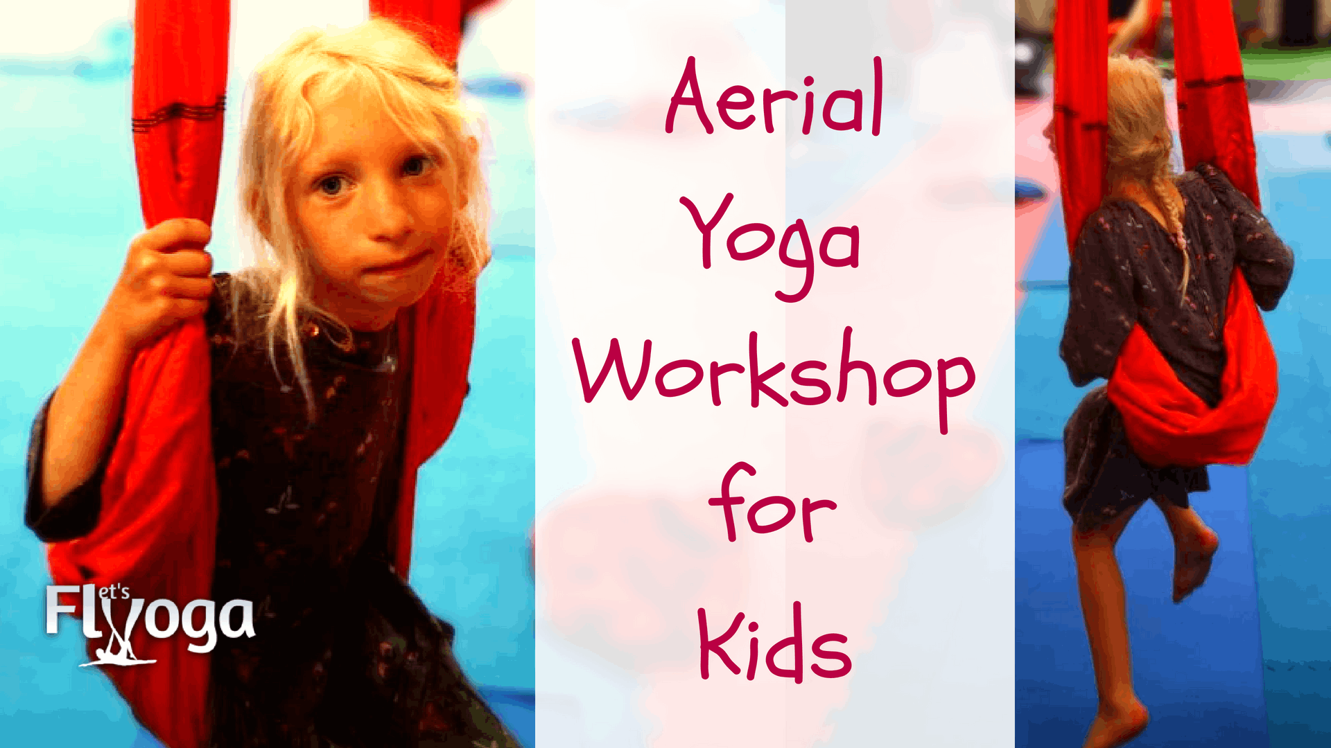 Aerial Yoga for Kids workshop in Galway