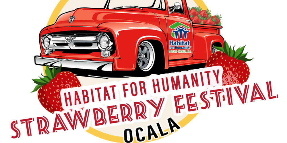 Florida Strawberry Festival 2020.Habitat Ocala Strawberry Festival Tickets Sat Mar 7 2020