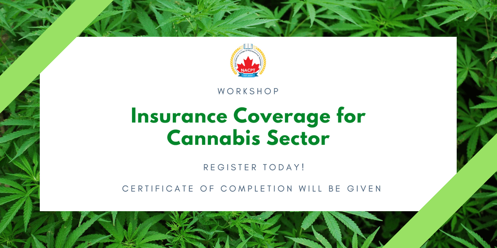 CANNABIS TRAINING - Insurance Coverage for Ca