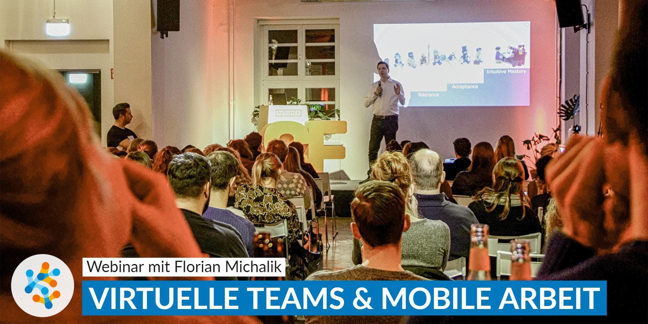 Virtuelle Teams: Führung und Zusammenarbeit auf Distanz ✸ Webinar
