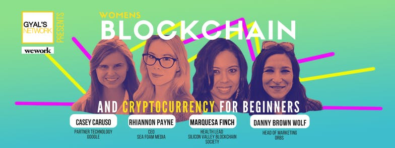 Women's Blockchain & Cryptocurrency for Begin