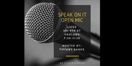 Speak On It tickets