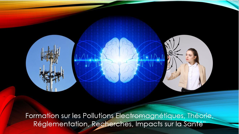 Formation sur les Pollutions Electromagnétiques, Théorie, Réglementation, Recherches, Impacts sur la Santé''