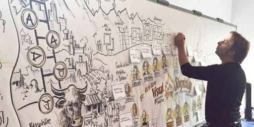 International Visual Facilitation Training: bikablo® Storytelling, Glasgow